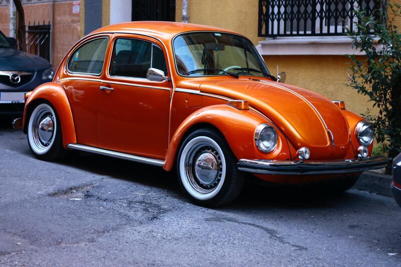 voiture-collection-orange