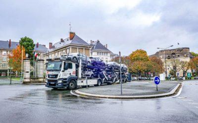 Transporteur de voiture en France